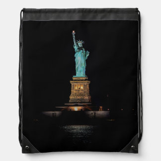 Photo of the Statue of Liberty in NYC Drawstring Bag