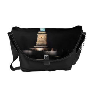 Photo of the Statue of Liberty in NYC Messenger Bag