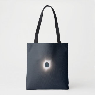 Photo of the totality eclipse 2017. tote bag