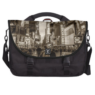 Photo of Times Square in New York City Laptop Bags