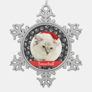 Photo Ornament | Personalized Cat Pet