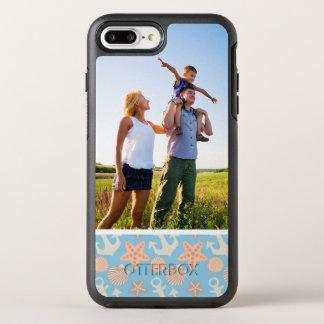 Photo Pastel Nautical Pattern OtterBox Symmetry iPhone 7 Plus Case
