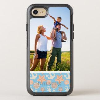 Photo Pastel Nautical Pattern OtterBox Symmetry iPhone 8/7 Case