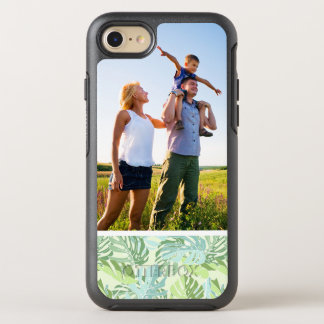 Photo Pastel Tropical Palm Leaves OtterBox Symmetry iPhone 8/7 Case
