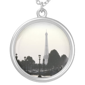 Photo pendant Paris Eiffel Tower Black and White