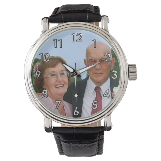 PHOTO Personalised Watches for Men, Women, Kids