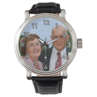 PHOTO Personalized Watches for Men, Women, Kids