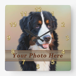 PHOTO Pet Clocks with Your Pet Picture