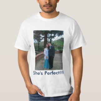 Photo Picture Custom Value T-Shirt By ZAZZ_IT
