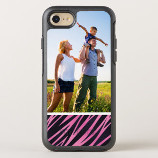 Photo Pink Zebra Stripe Background OtterBox Symmetry iPhone 8/7 Case