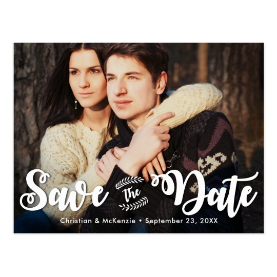 Photo Postcard Save the Date