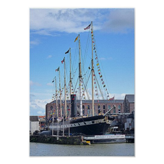 "Photo Poster ""The SS Great Britain"", Bristol"