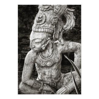 Photo Print - Ancient Mayan Figure - Mexico