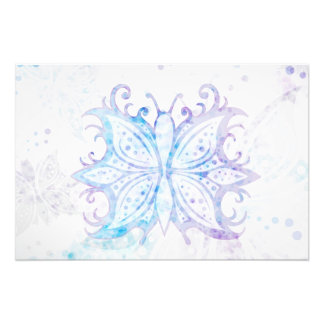 Photo print Butterfly Abstract
