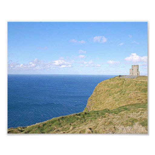 Photo Print - Colorful Cliffs of Moher