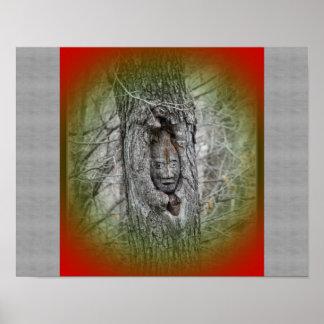Photo Print of Tree Gnome