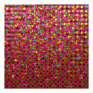 Photo Print Polka Dot Sparkley Jewels