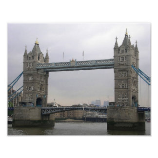 Photo Print with Tower Bridge over the Thames