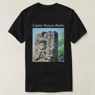 Photo Printed Ancient Ruins Mayan Honduras T-Shirt