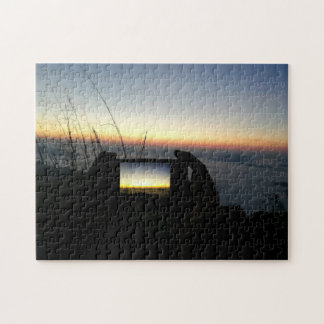 Photo Puzzle with Gift Box Take to sky