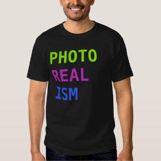 PHOTO REALISM T-SHIRTS