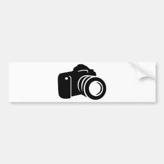 Photo reflex camera bumper sticker