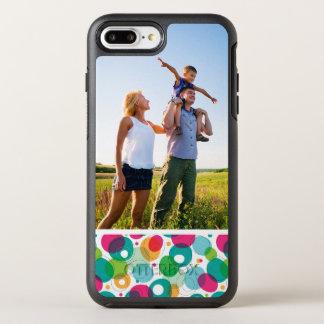 Photo Round bubbles kids pattern OtterBox Symmetry iPhone 7 Plus Case