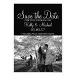 Photo Save the Date 9 Cm X 13 Cm Invitation Card