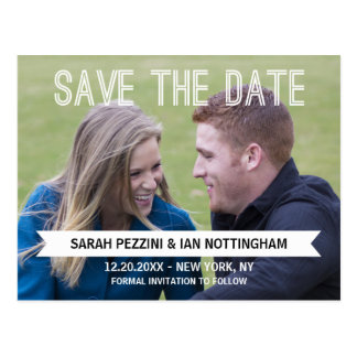 Photo Save the Date Cards Postcard