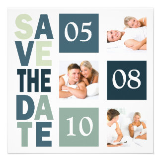 Photo Save The Dates Invitations