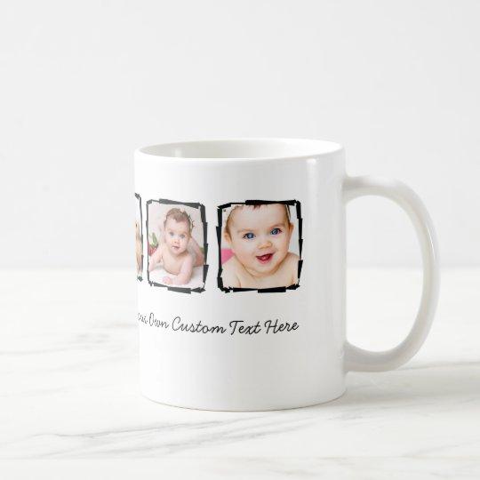 Photo Scribble Frame Personalised Unique Custom Coffee Mug