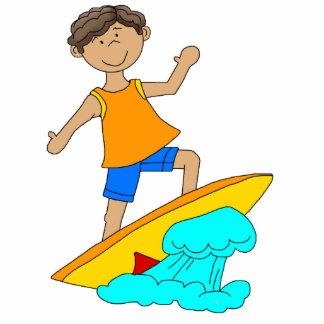 Photo Sculpture Surfer Boy