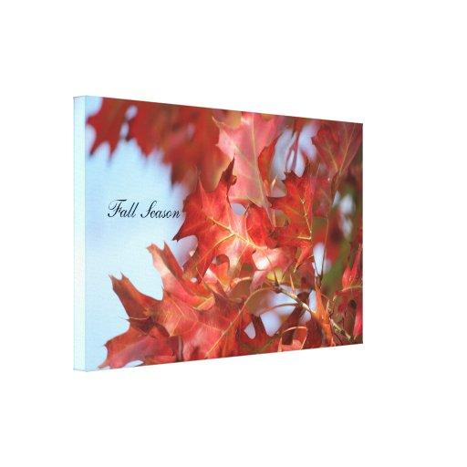 Photo Season Gallery Wrap Canvas
