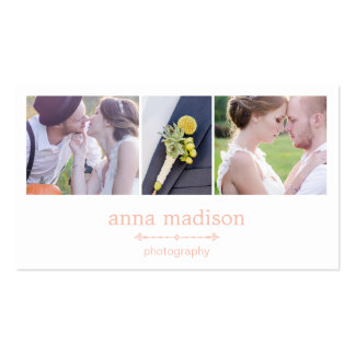 Photo Showcase Photography Business Card - Pink