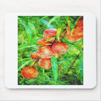 Photo Sketch - peaches Mouse Mat