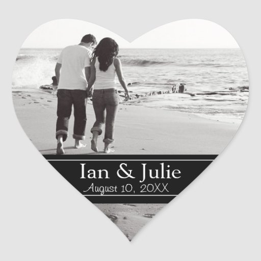 Photo Sweetheart Stickers Personalized