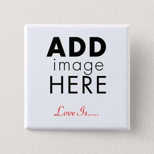 Photo Template 15 Cm Square Badge