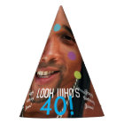 Photo Template Birthday Paper Party Hat