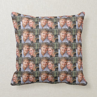 Photo template family friend throw pillow