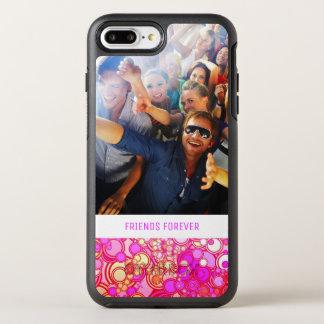 Photo & Text Retro Circles OtterBox Symmetry iPhone 7 Plus Case