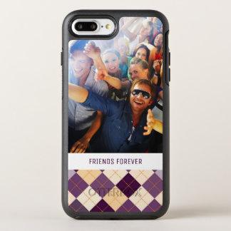 Photo & Text Sweater Background OtterBox Symmetry iPhone 8 Plus/7 Plus Case