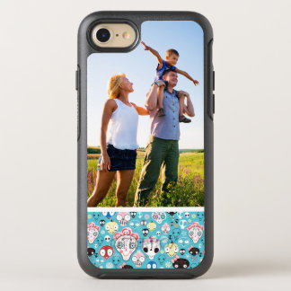 Photo Texture laughing skull OtterBox Symmetry iPhone 8/7 Case