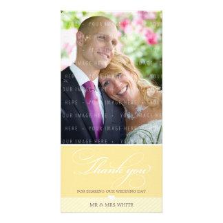 PHOTO THANK YOU :: lovely type 2 Customized Photo Card