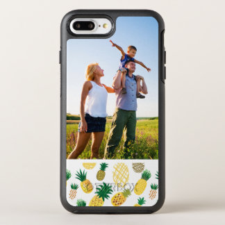 Photo Trendy Pineapple Pattern OtterBox Symmetry iPhone 8 Plus/7 Plus Case