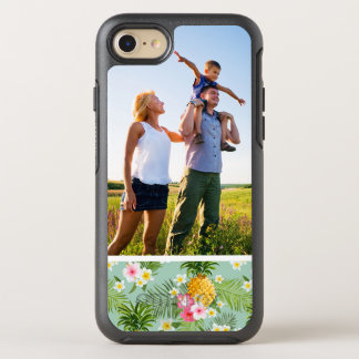 Photo Tropical Flowers & Pineapples OtterBox Symmetry iPhone 8/7 Case
