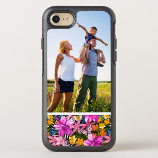Photo Tropical leaves and flowers OtterBox Symmetry iPhone 8/7 Case