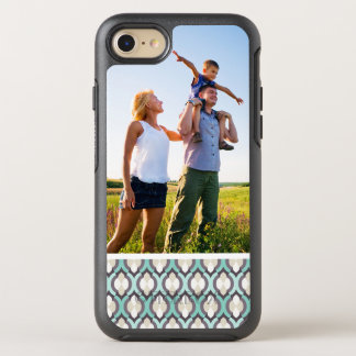 Photo Turquoise Moroccan Pattern OtterBox Symmetry iPhone 8/7 Case