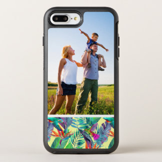 Photo Watercolor Humminbirds In The Jungle OtterBox Symmetry iPhone 8 Plus/7 Plus Case