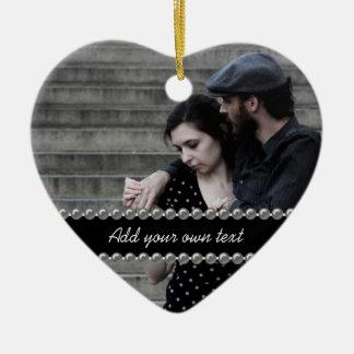 Photo Wedding/Engagement/Anniversary Ornament