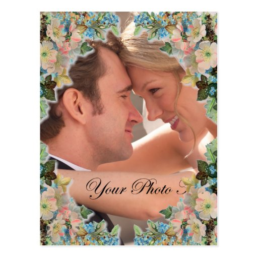 Photo Wedding Save the Date Postcards